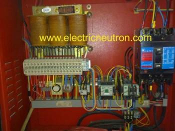 auto transformer starter (wiring diagram)