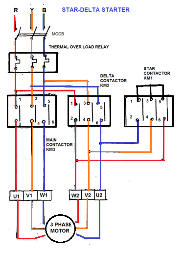 Electrical, Actual Photo Of Control Wiring Diagram Star Delta Starter